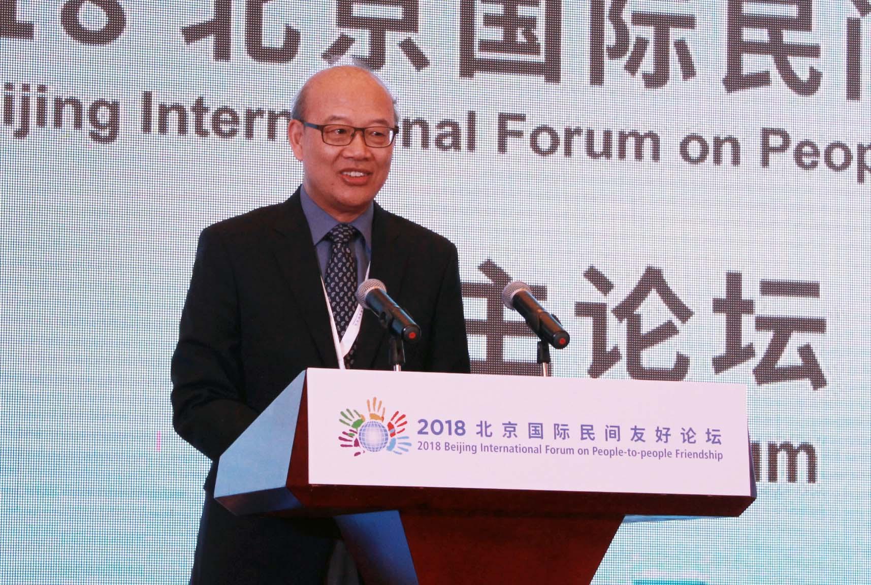 环球网专访王恩哥:科技工作者参与国际交流扮演特殊角色 也承担社会责任
