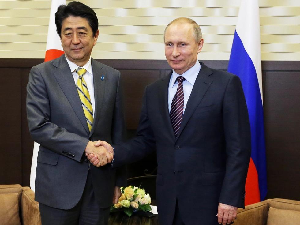 日媒:安倍访俄没达成任何共识 与普京会谈成果匮乏