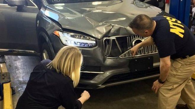 优步自动驾驶车致死事故初步调查结果:AEBS系统被禁用