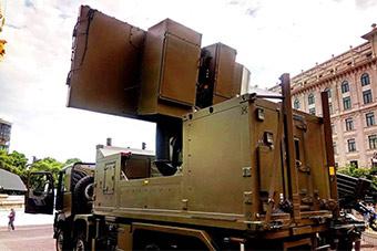 叫板S400?格鲁吉亚防空雷达探测范围近400公里