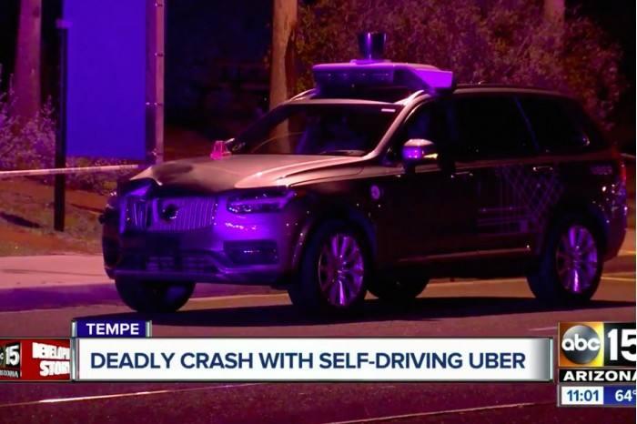 无人驾驶紧抓安全牌 Uber交通致死事故原因公布