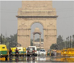 德里将迎沙尘暴天气 有望带来降雨缓解高温