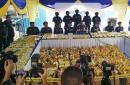 马来西亚海关缴获1187公斤冰毒 价值1.14亿人民币