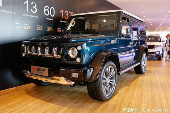 北京BJ80珠峰版上市 专属打造内外全面升级