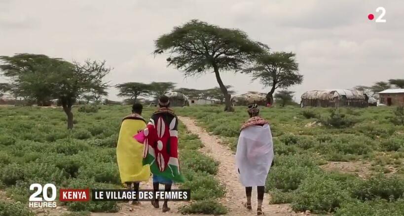 肯尼亚女性村:专为收容遭遇暴力的女性