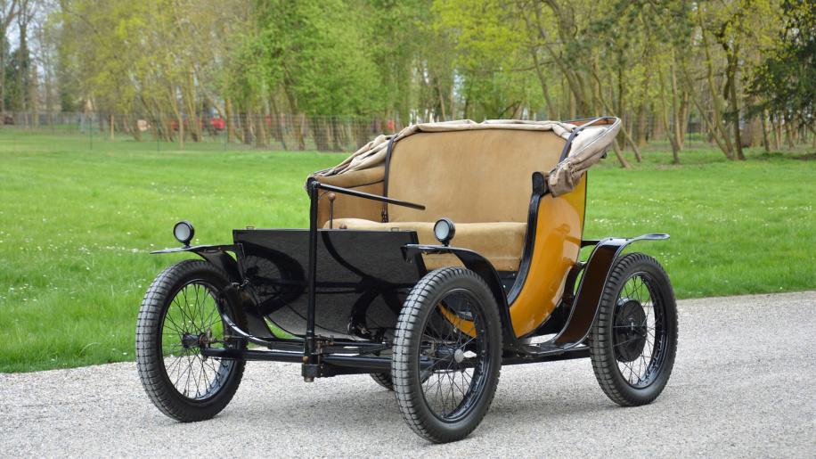 存世稀少的精品 产于20世纪初的布加迪纯电动车
