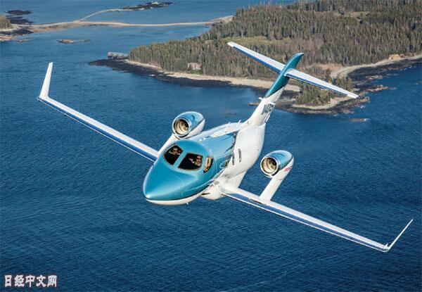 提升品牌号召力 本田HondaJet飞机又出了新机型
