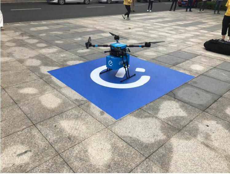 饿了么获批中国首条外卖无人机航线