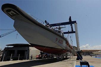意大利海军最新多功能特种快艇下水