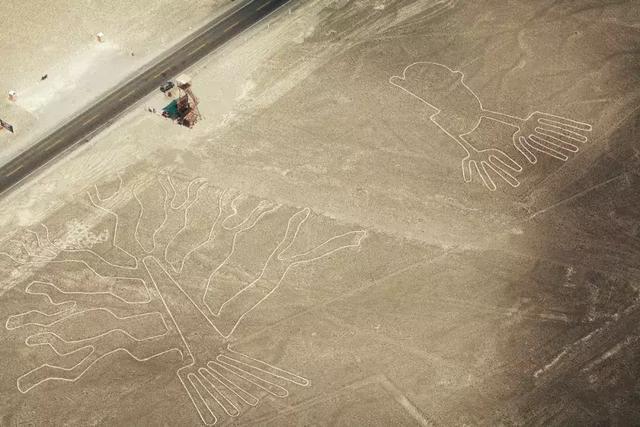 """无人机空拍立功 秘鲁发现20多处神秘""""地画"""""""
