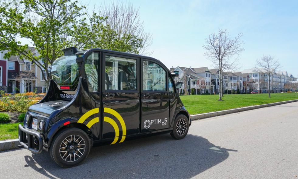 比其他自动驾驶工具靠谱 无人驾驶接驳车了解一下