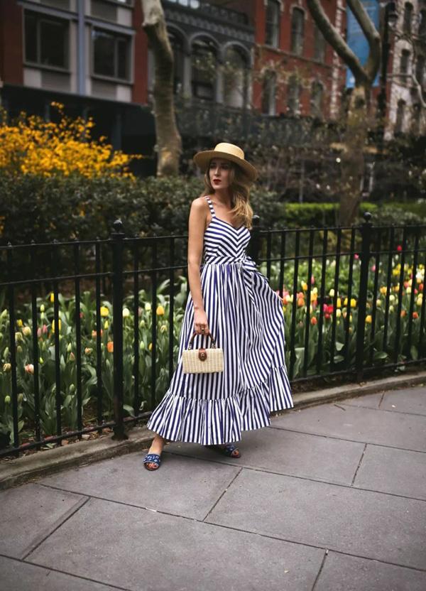吊带裙像睡裙?穿对了让这个夏季不一样起来!