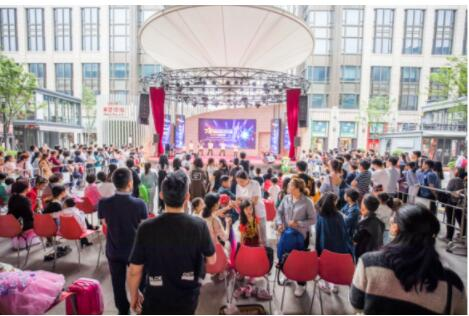 星光宝贝齐聚浦东长泰广场 用实力为梦想代言