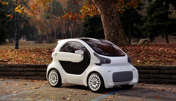 全球首款3D打印电动车 欧洲订单已达7000辆
