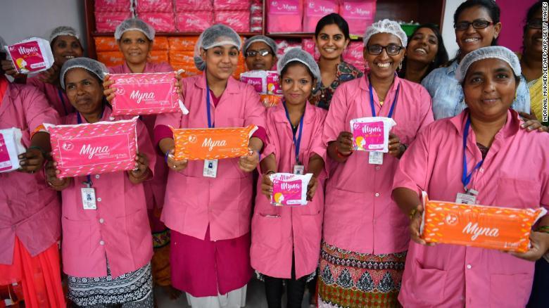 印度基金会尝试改善女性经期卫生问题 获得梅根助力