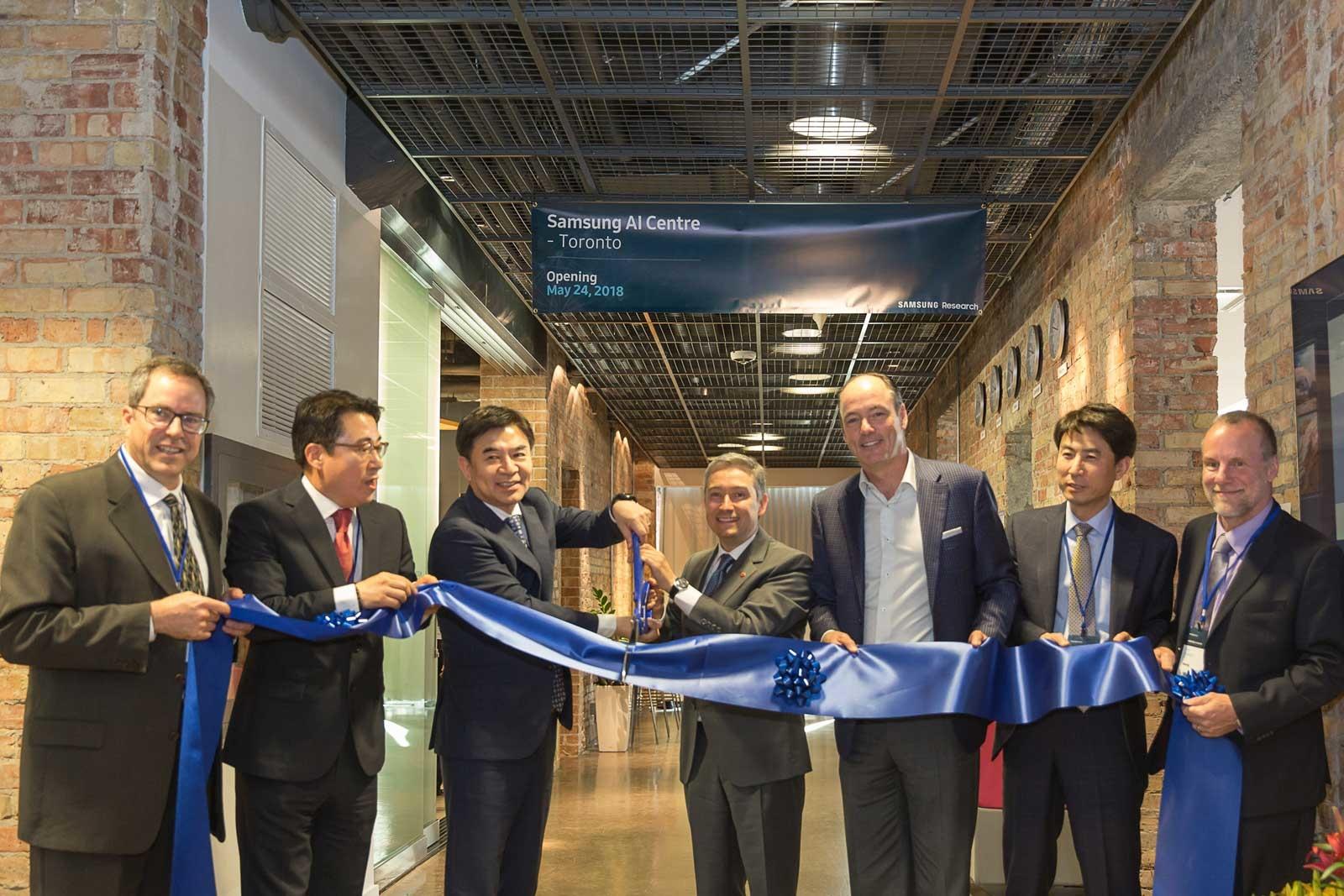 三星在多伦多开设北美第二家人工智能实验室