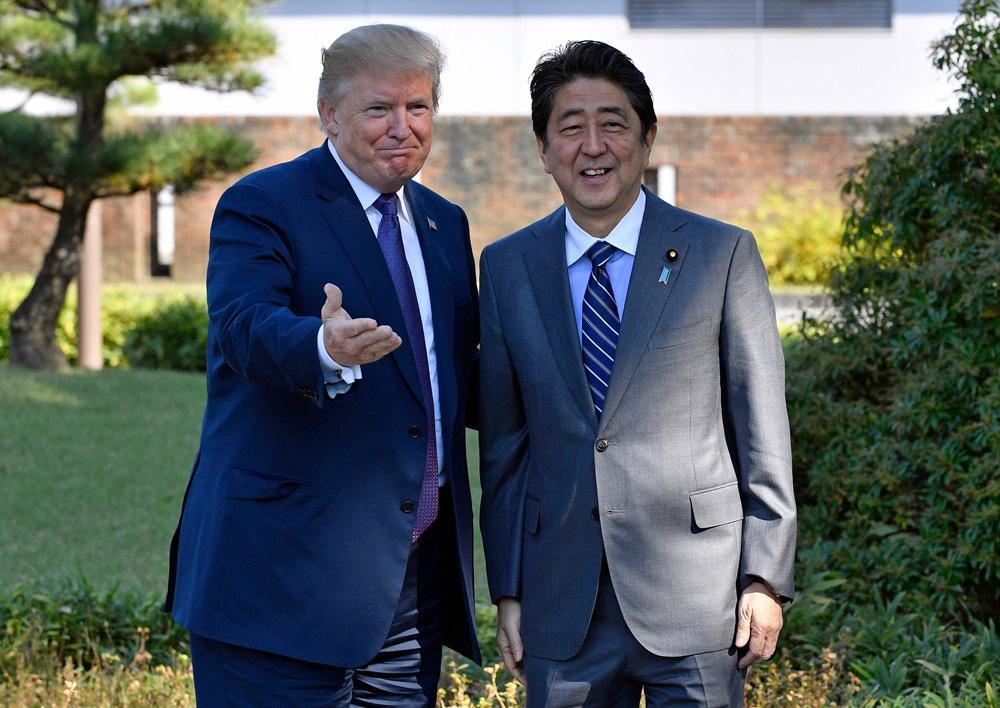 白宫:特朗普和安倍晋三将于6月7日在白宫举行会晤