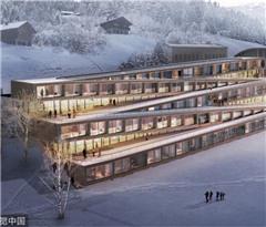 瑞士将新建一家个性酒店 可以沿着屋顶滑雪