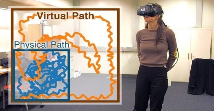 眼球追踪技术让VR玩家陷入无限绕圈走动