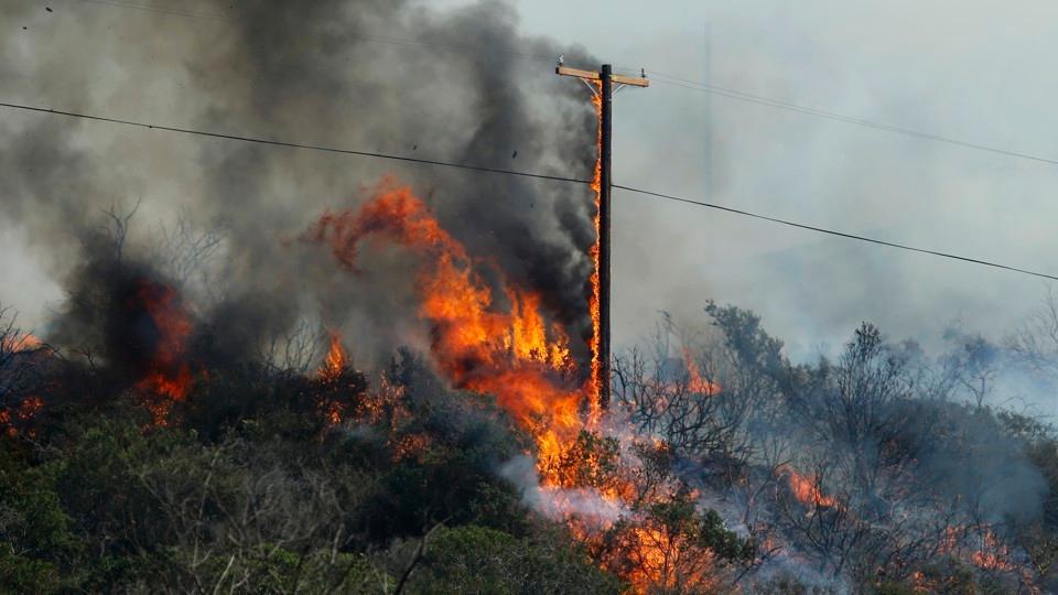 电线正成加州火灾头号祸首 技术能解决这个难题吗