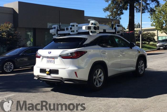 苹果加州自动驾驶测试车增至62辆 司机达87名