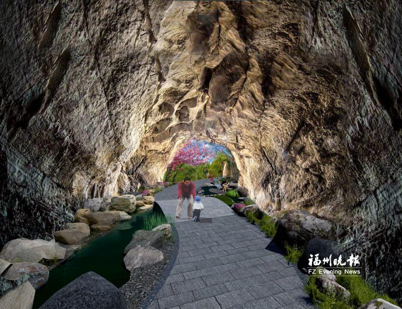 福州开建景观隧道 今年底在福山郊野生态公园亮相
