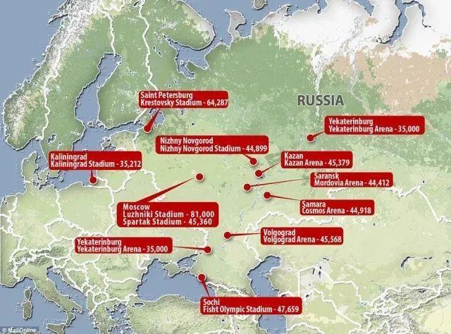 俄罗斯能办世界杯才不仅仅因为他们是战斗民族