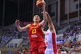 热身-中国男篮77-66伊朗男篮
