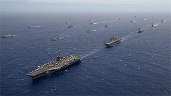 美环太平洋军演将有47艘军舰参加