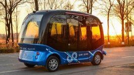 外媒:中国百度即将开始批量生产电动穿梭巴士