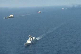 盐城舰前往尼日利亚参加国际海事会议