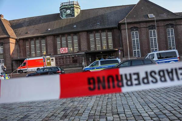 德国列车发生砍人事件 致1死2伤