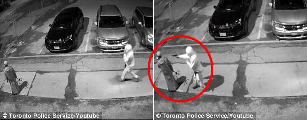 加拿大一男子因袭击者所持手枪卡壳免遭枪击