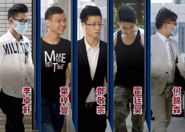 """""""旺角骚乱案""""10名被告暴动罪全部成立 最年轻者判刑超过4年"""