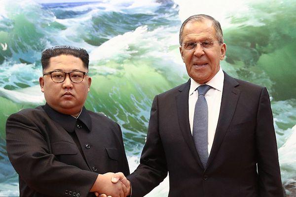 俄外长当面邀请金正恩访俄:您来俄罗斯吧,我们会很高兴