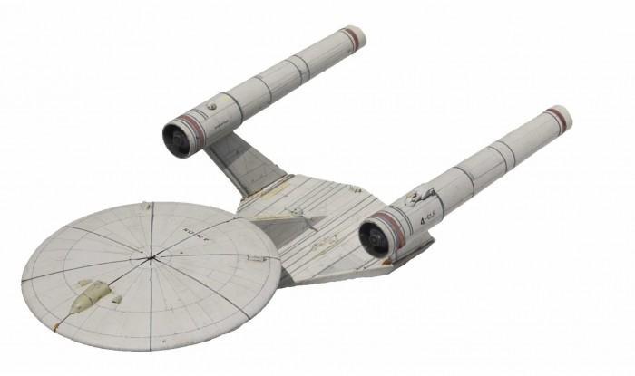 设计大师罕见为《星际迷航》设计的模型将拍卖