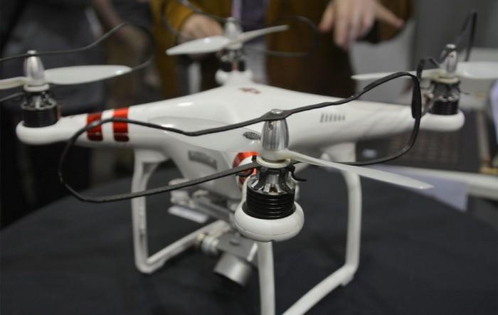 四旋翼无人机安全系统亮相 可保护使用者手指