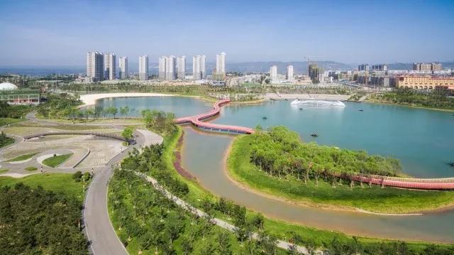 东方园林在韩城建了一个公园 成了全国游客慕名前往的旅游胜地