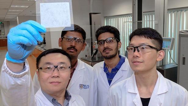 新加坡科学家研发出能吸收空气中水分的水凝胶