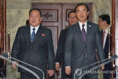 韩媒:朝韩今日将在板门店举行高级别会谈