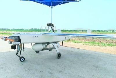 中空无人机下投探空系统陆地试验成功