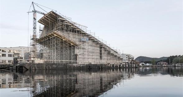欧洲首家水下餐厅在挪威动工