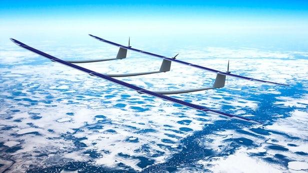 """""""高空伪卫星"""" UAVOS太阳能无人机ApusDuo原型首飞"""