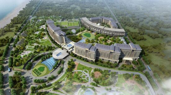 魔都又一超大规模生态度假酒店!上海三甲港绿地国际旅游度假村