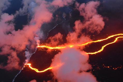 如临外星!盘点夏威夷基拉韦厄火山喷发场景