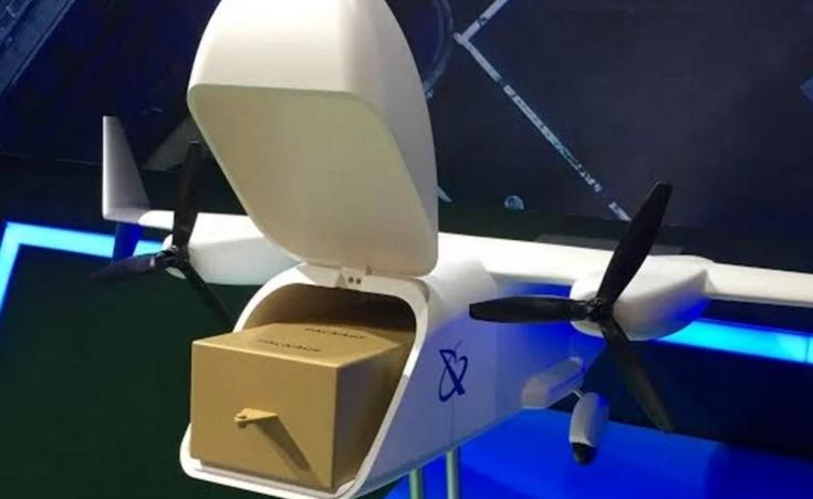 外媒:中国快递物流服务正在纷纷考虑用无人机送货