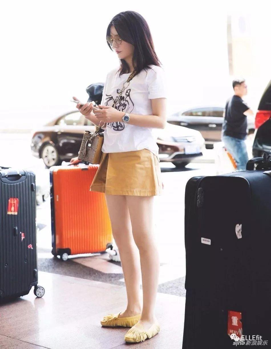 赵薇的腿是真的细了还是P图太给力?