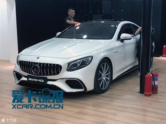 深港澳探馆:新款AMG S 63轿跑车曝光