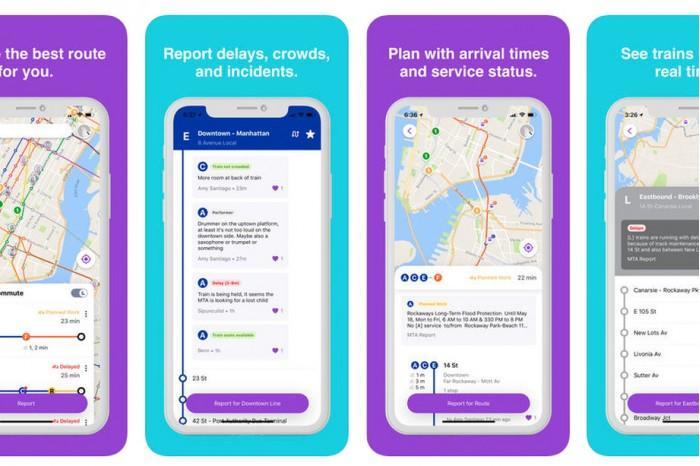 谷歌推出Pigeon APP:改善纽约地铁通勤