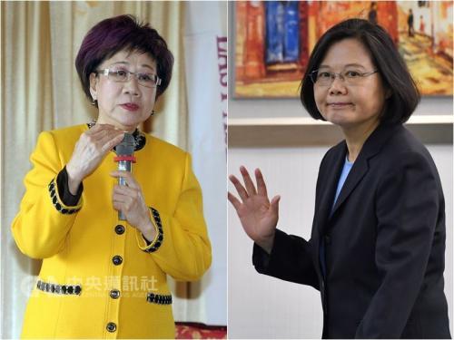 蔡英文将拜会吕秀莲 陈菊称民进党已无分裂本钱